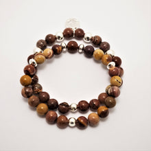 Load image into Gallery viewer, Yoga Gemstone Bracelet Set