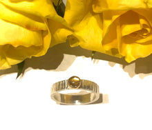 Load image into Gallery viewer, Citrine and Gold Ring Set