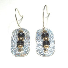 Load image into Gallery viewer, Genuine Topaz Dangle Drop Earring