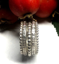 Load image into Gallery viewer, Sterling Silver Stacking Ring Set