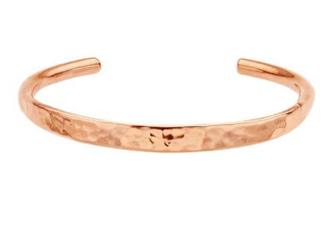 Copper Hammered Cuff