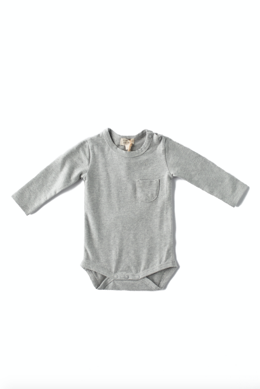 Long-Sleeve Onesie | 5 Colors