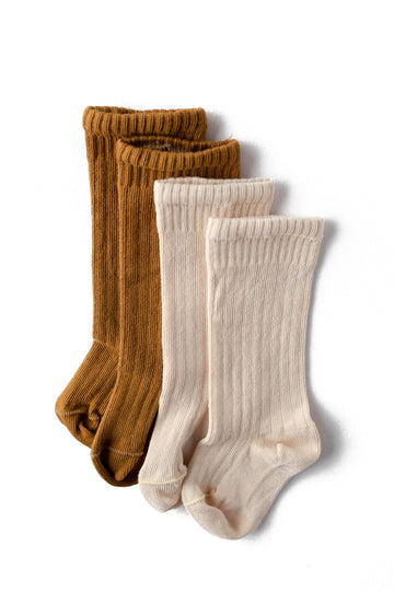 Ribbed Sock | 2 Colors