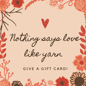 Tippy Tree Yarns Gift Card