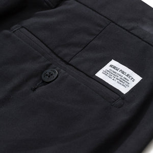 Norse Projects Aros Slim Light Stretch Chino Black