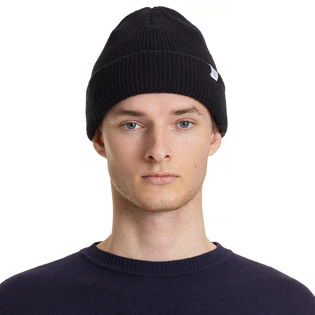 Norse Projects Norse Beanie Black