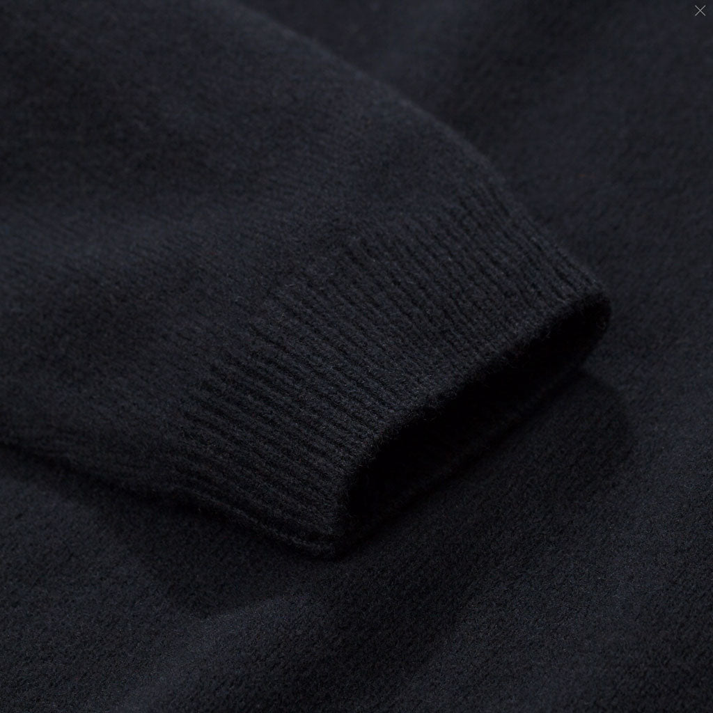 Norse Projects Sigfred Lambswool Black