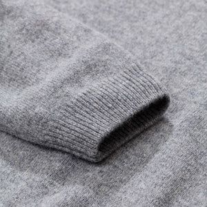 Norse Projects Sigfred Lambswool Light Grey Melange