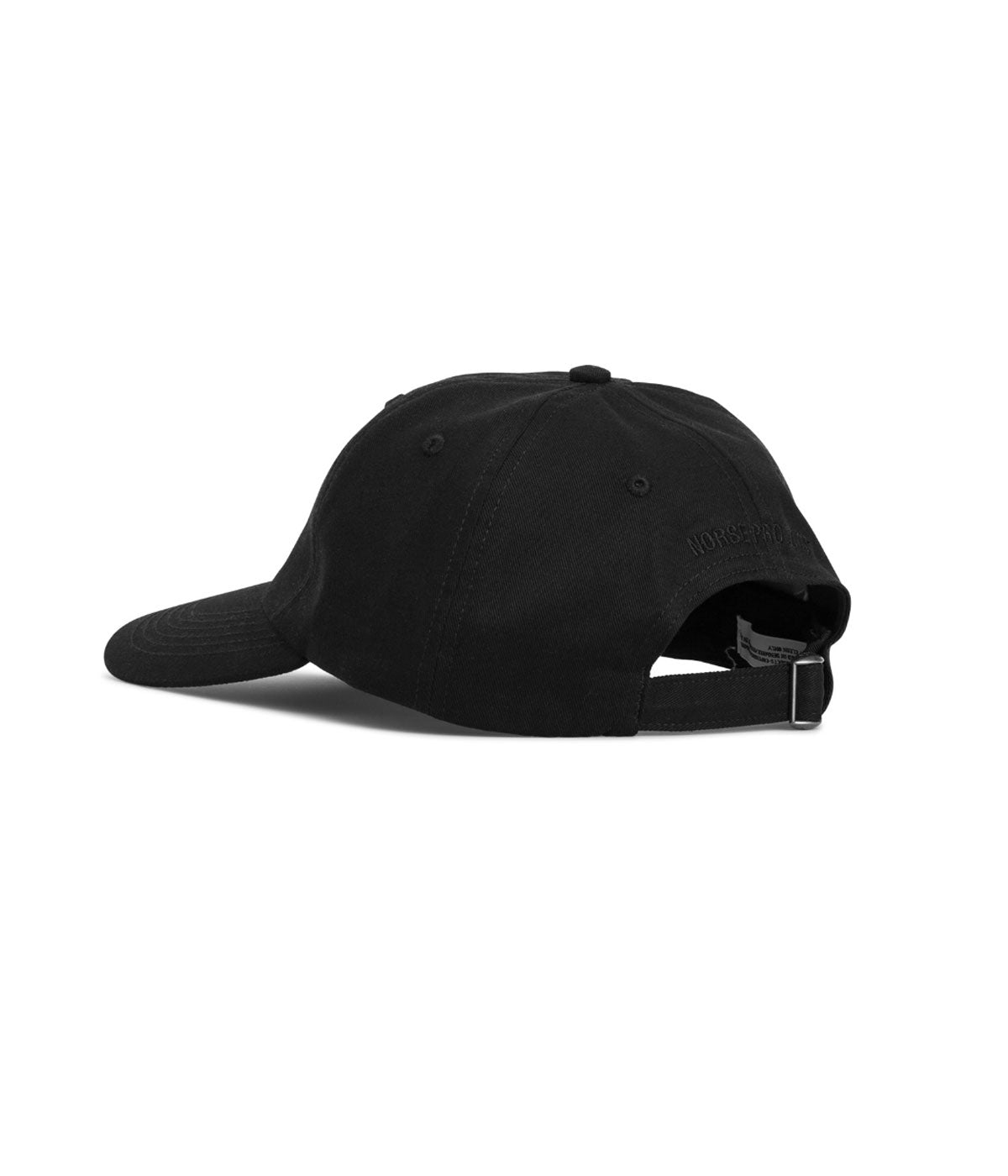 Norse Projects Twill Sports Cap Black