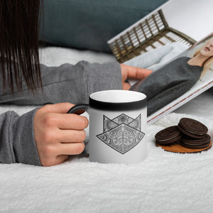 Influx Matte Black Magic Mug