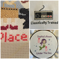 Cross Stitch Collage