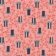 Window Vine in Pink- Home Body by Kimberly Knight for Cotton & Steel- The Haberdashery