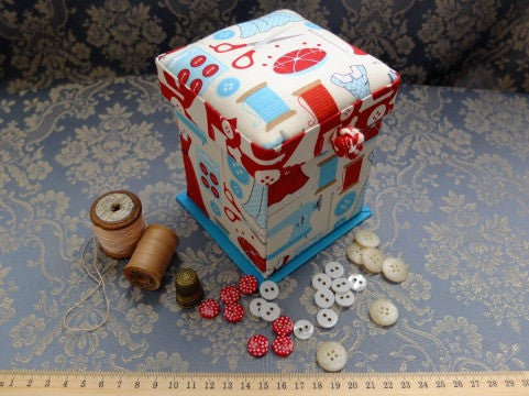 Sew Vintage Sewing Box- The Haberdashery