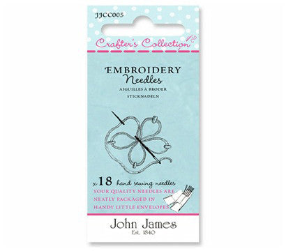 Crafter's Collection Embroidery Needles- The Haberdashery