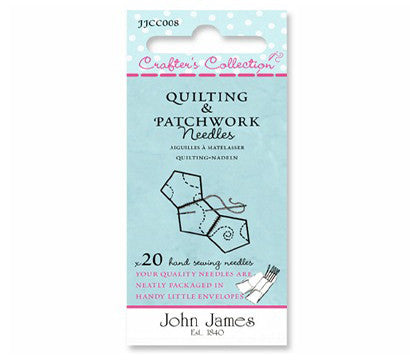 Crafter's Collection Quilting & Patchwork Needles Size 3/7- The Haberdashery