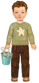 Oliver + S Sandbox Pants Pattern and Starfish Stencil- The Haberdashery