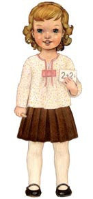 Oliver + S 2 + 2 Blouse + Pleated Skirt Sewing Pattern- The Haberdashery