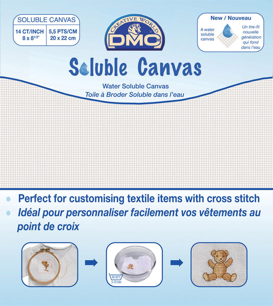 DMC Soluable Aida Canvas