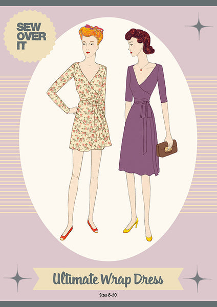 Sew Over It Ultimate Wrap Dress Pattern