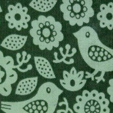 Garden Bird Cord Fabric- The Haberdashery