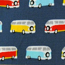 Camper Van Cotton Fabric- The Haberdashery