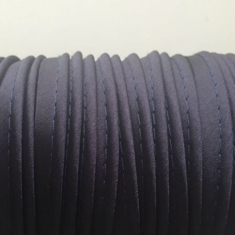 Dark Blue Coloured Piping