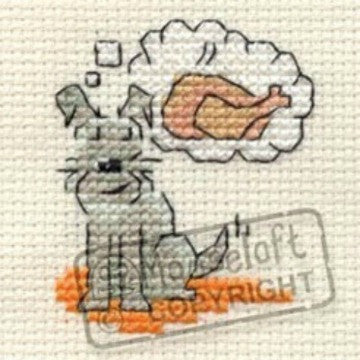 Daydream Little Dog Cross Stitch