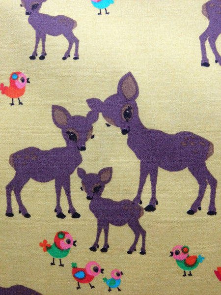 Dashing Deer Cotton Poplin