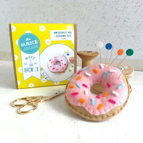 Make your Own Doughnut Pin Cushion Kit