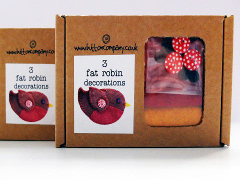 3 Fat Robin Decorations Kit- The Haberdashery