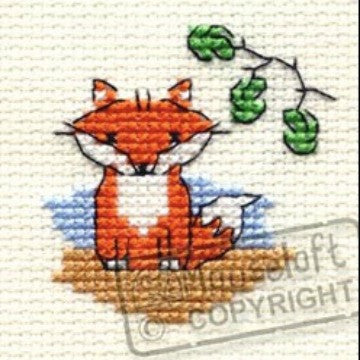 Ferdinand Fox In The Woods Cross Stitch