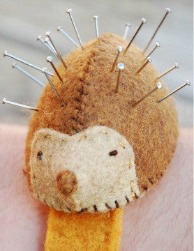 Hedgehog Pin Cushion Kit