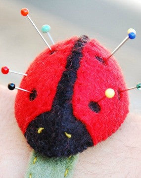 Ladybird Pin Cushion Kit