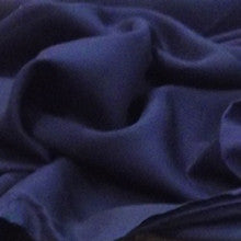 Navy Plain Viscose- The Haberdashery