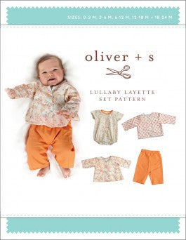 Oliver + S Lullaby Layette Set Pattern- The Haberdashery