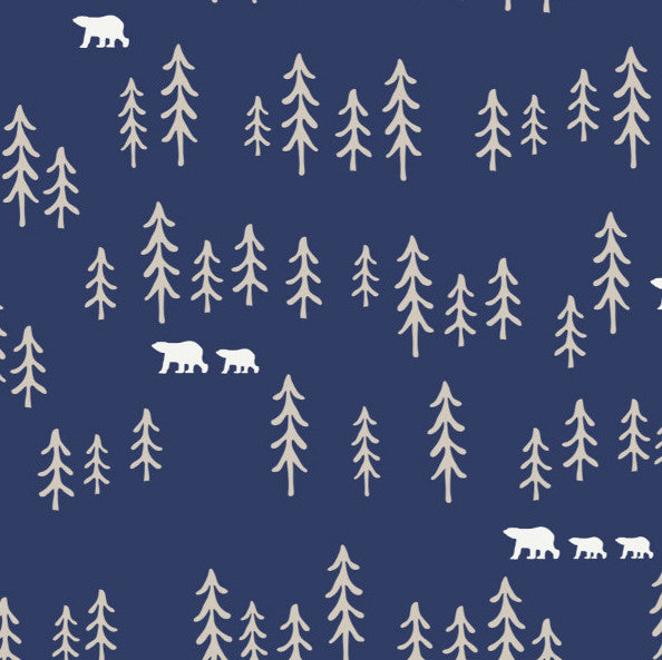 Pine Forest in Navy