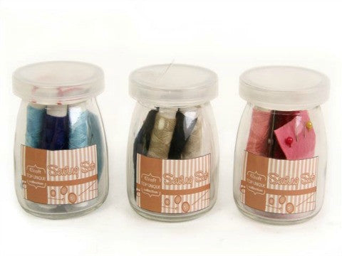 Sewing Set In A Jar- The Haberdashery