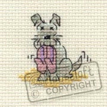 Slippers Little Dog Cross Stitch