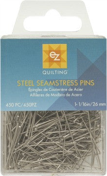 Steel Seamstress Pins- The Haberdashery
