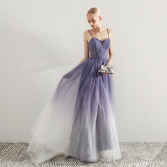 Sheath-Column Court Train Tulle Wedding Dress