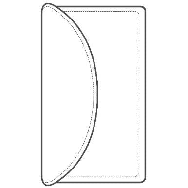 TandyPro® Clutch Wallet Template