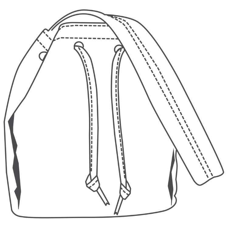 TandyPro® Template Drawstring Purse Template