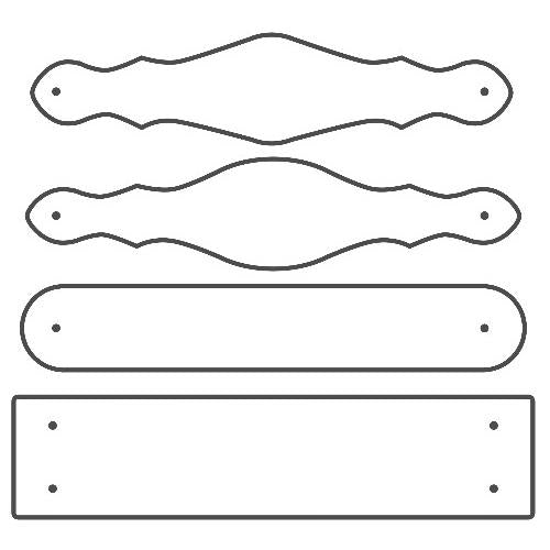 TandyPro® Cuff and Bracelet Set Template