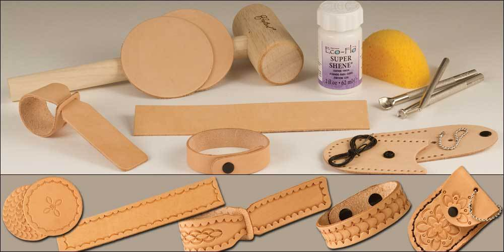 Adventures in Leathercraft Set 1