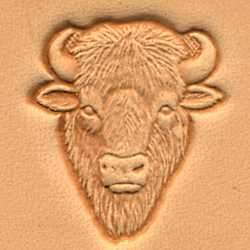Buffalo Head Craftool® 3-D Stamp