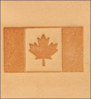 Craftool® 3-D Stamp Canadian Flag