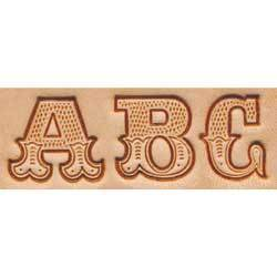 "Craftool® 3/4"" (19 mm) Leather Art Alphabet Set"
