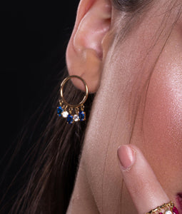 GLAMOROUS Earrings - Amal Al Majed Jewellery