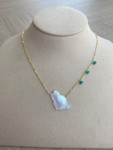 Saudi Arabia Map Necklace