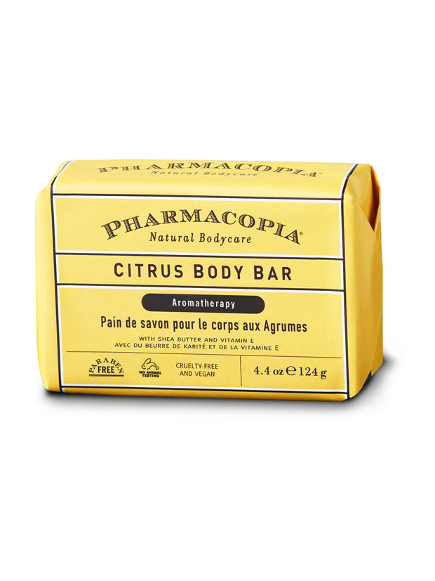 Pharmacopia Citrus Body Bar 4.4oz
